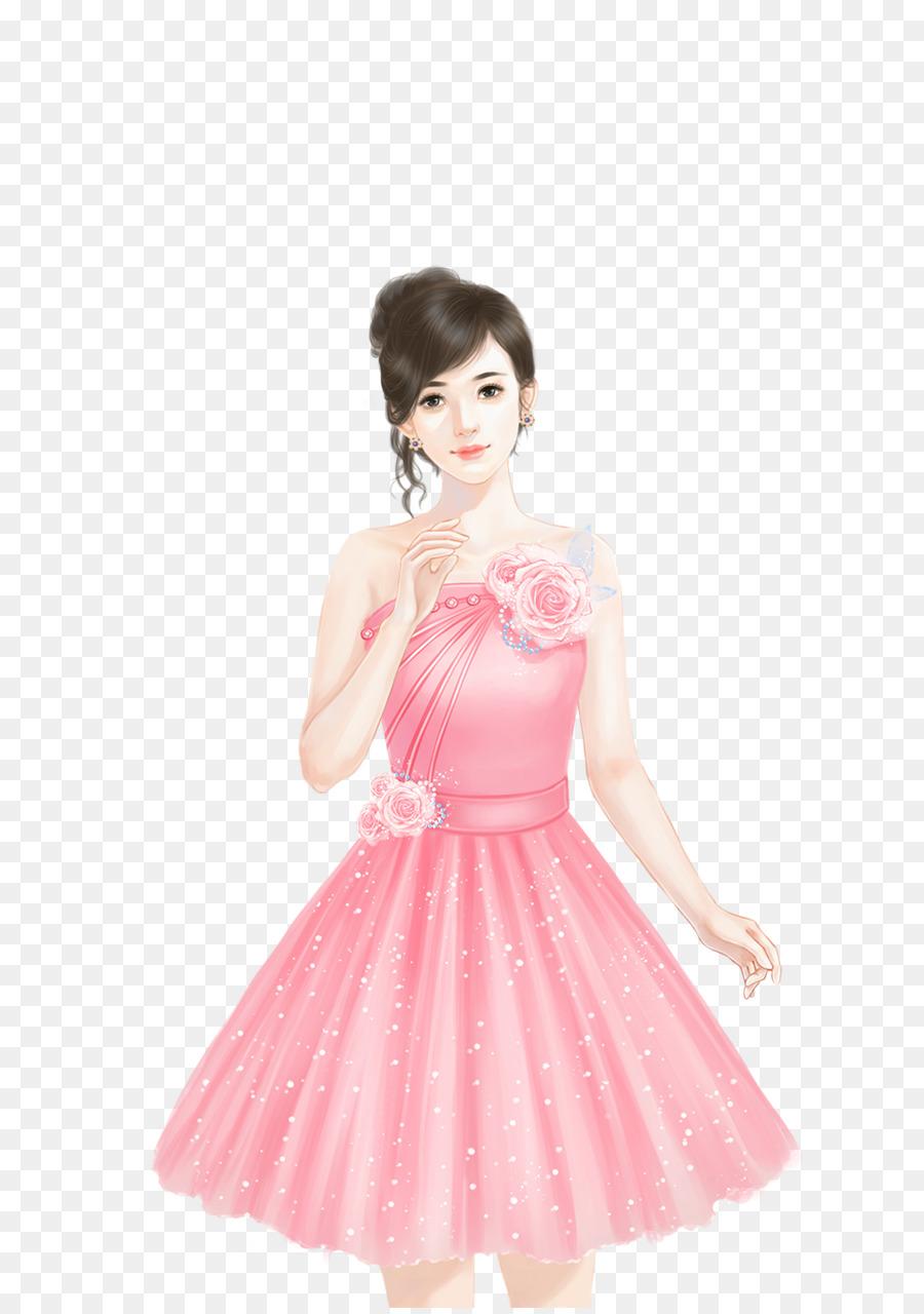 Marilyn Monroes vestido de color rosa vestido de Cóctel - Vestido de ...