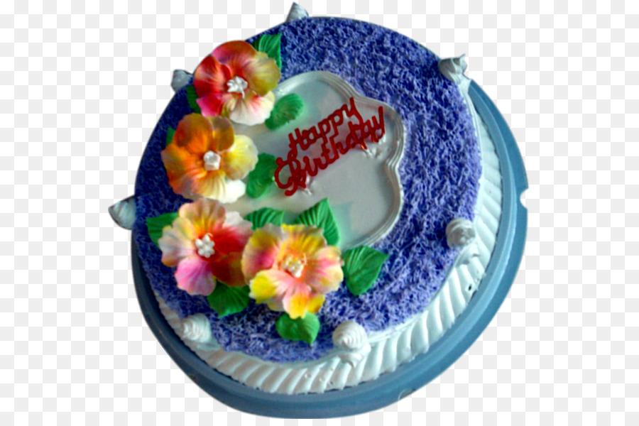 Geburtstag Kuchen Torte Zucker Tortenguss Mit Buttercreme Kreative