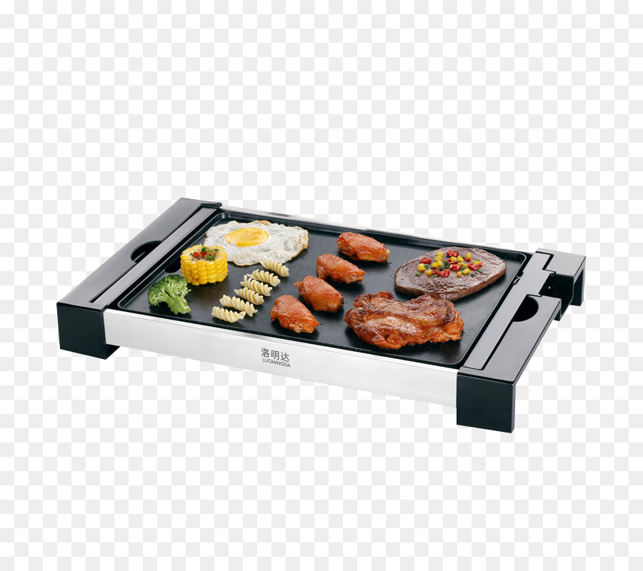 Barbecue Teppanyaki Furnace Grilling Electricity - Smokeless Korean ...