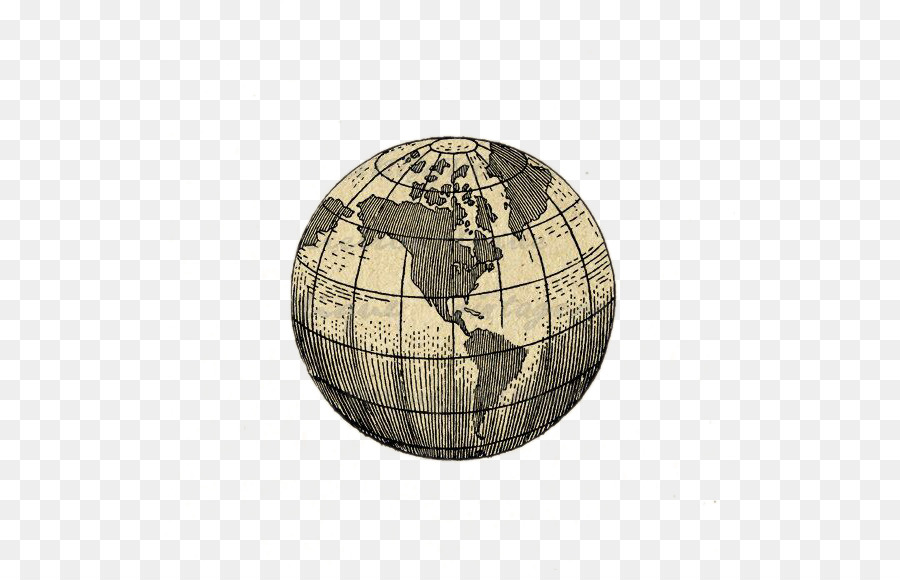 Globe Earth Tattoo World Map Globe Png Download 570570 Free