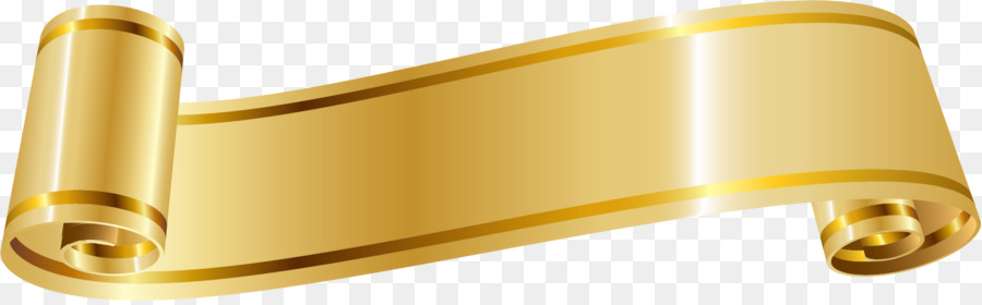 ribbon gold golden ribbon png download 1501 461 free