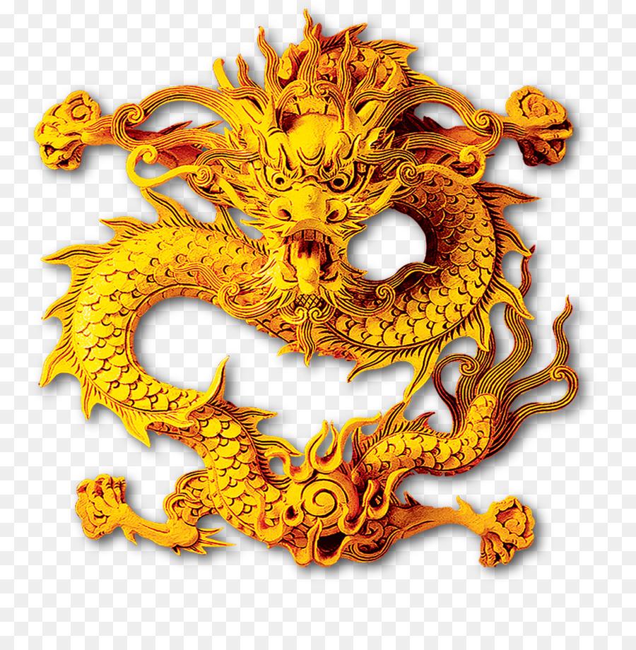 China Chinese dragon Clip art - Chinese dragon png download - 1082 ...