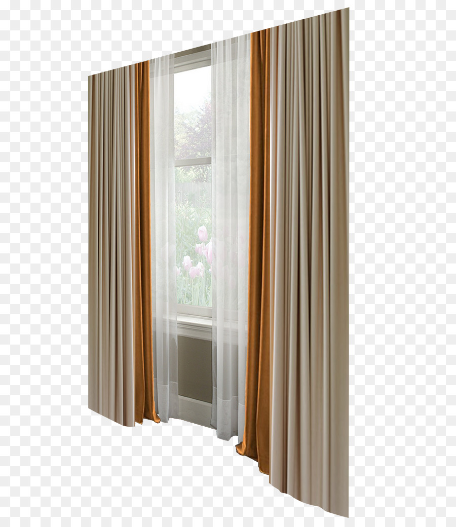 Curtain Window blind Bedroom - Window curtains png download - 658 ...