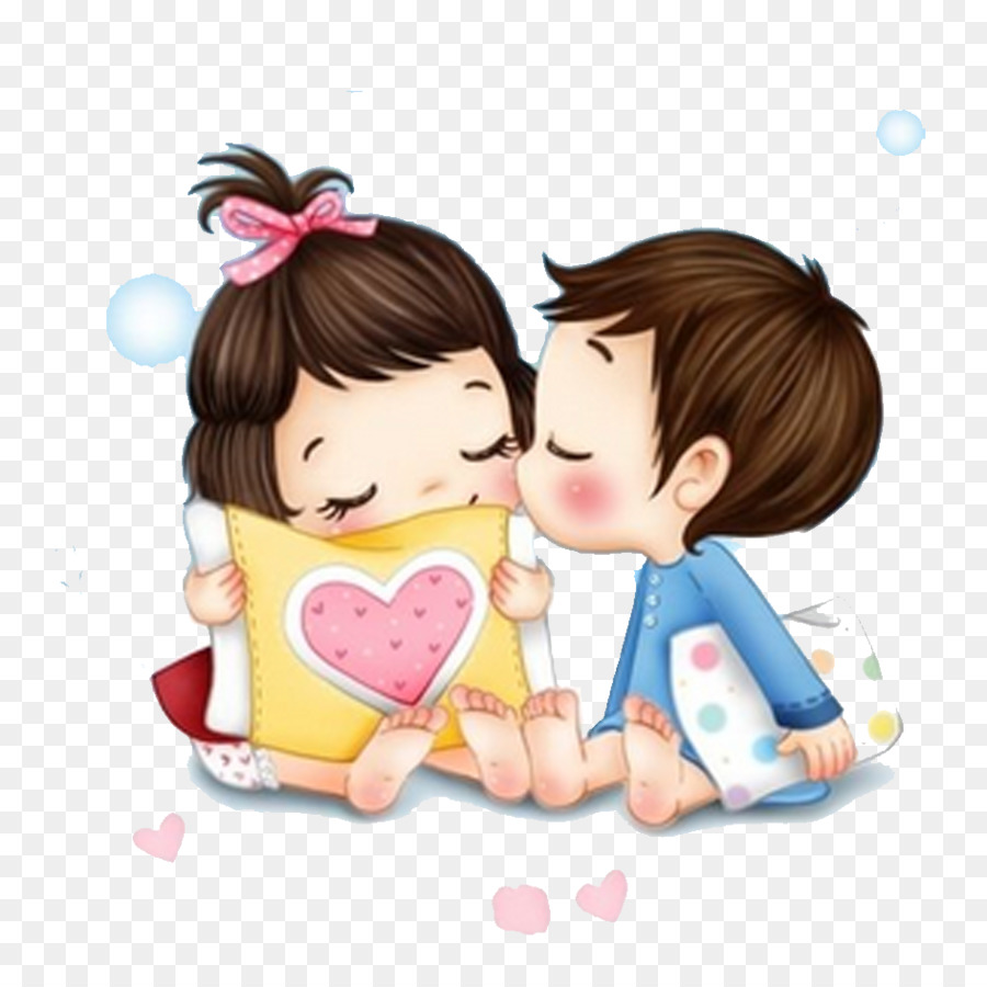 Iphone 5s Love Romance Wallpaper Cartoon Couple Material Png