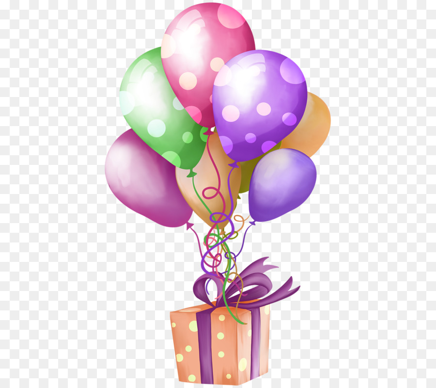 Balloon Happy Birthday To You Gift Clip Art Gift Png Download