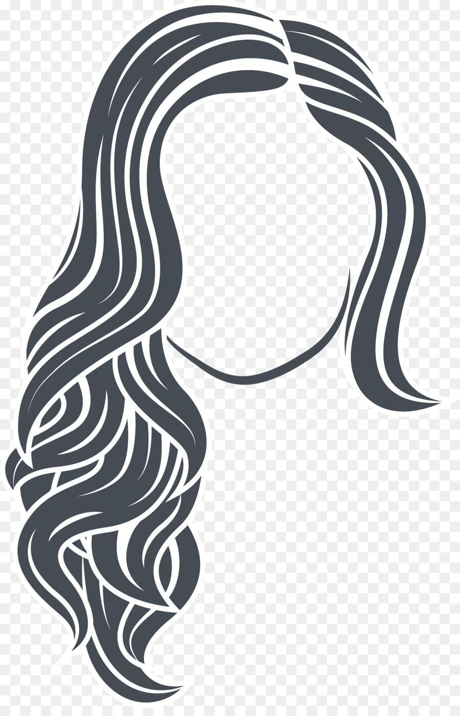 hairdresser euclidean vector long hair modern simple hair vector rh kisspng com hair factory shop hair factory uk