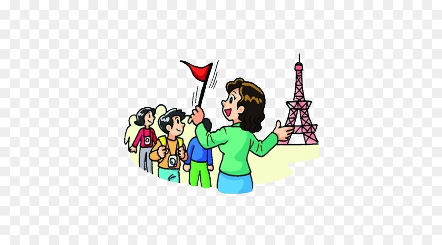 Tour Guide Museum Clip Art
