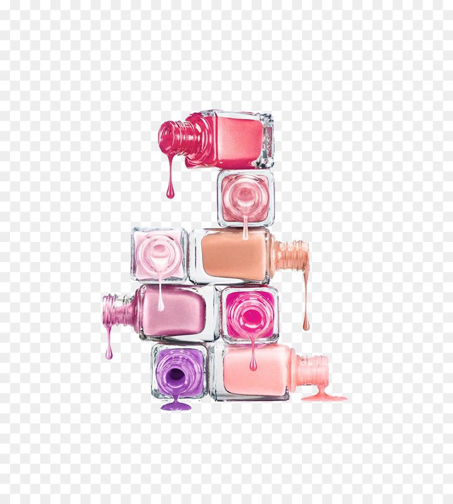 Nail Polish Poster Cosmetics