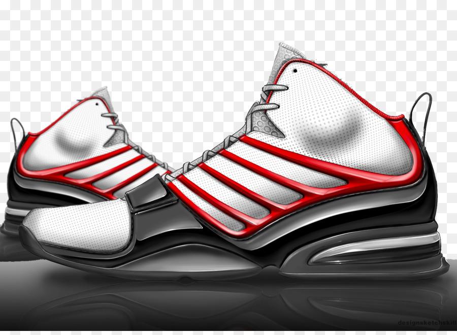 Bemalte Schuh Schuhe Rot Rendering Sneaker Nike Hand Gestreifte rxoedCB