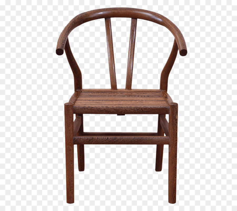 Chair Table Wood Furniture Simple type bamboo chair png download