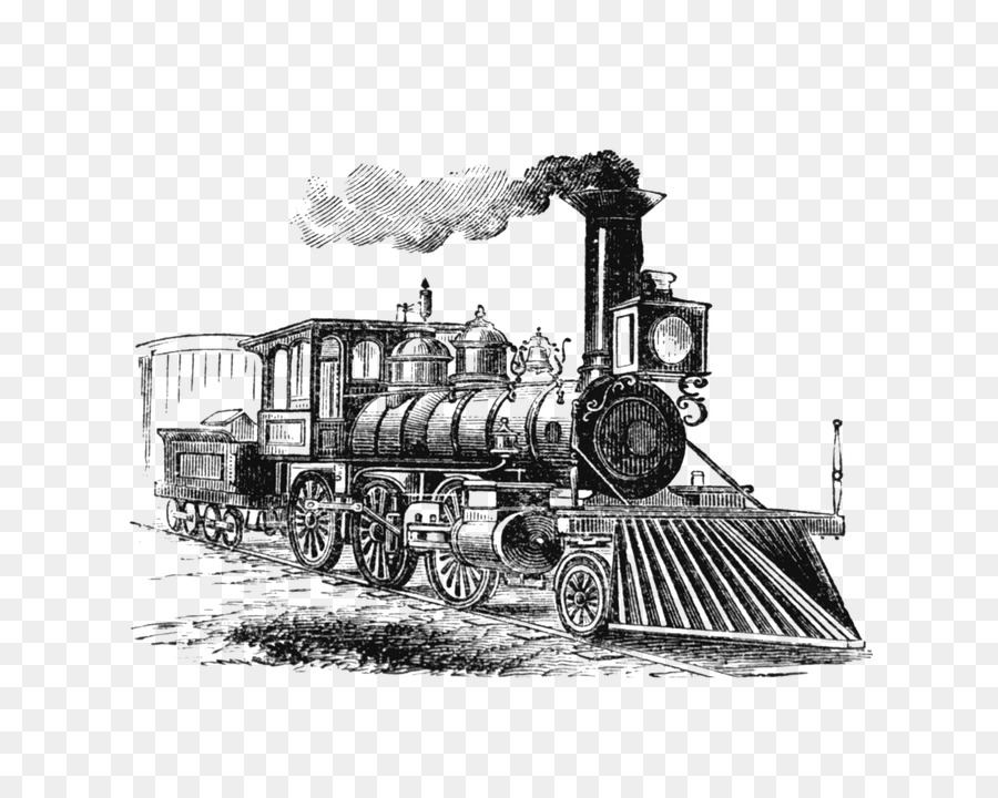 Train Rail Transport Old Time Transportation Steam 150145 on diesel engine clip art