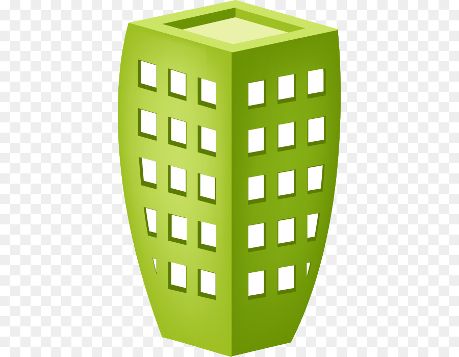 Building Cartoon Download Green Building Office Building Png