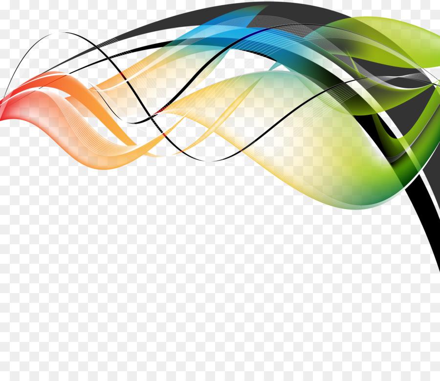Clip de la línea de arte - Resumen del color de la línea png dibujo ...