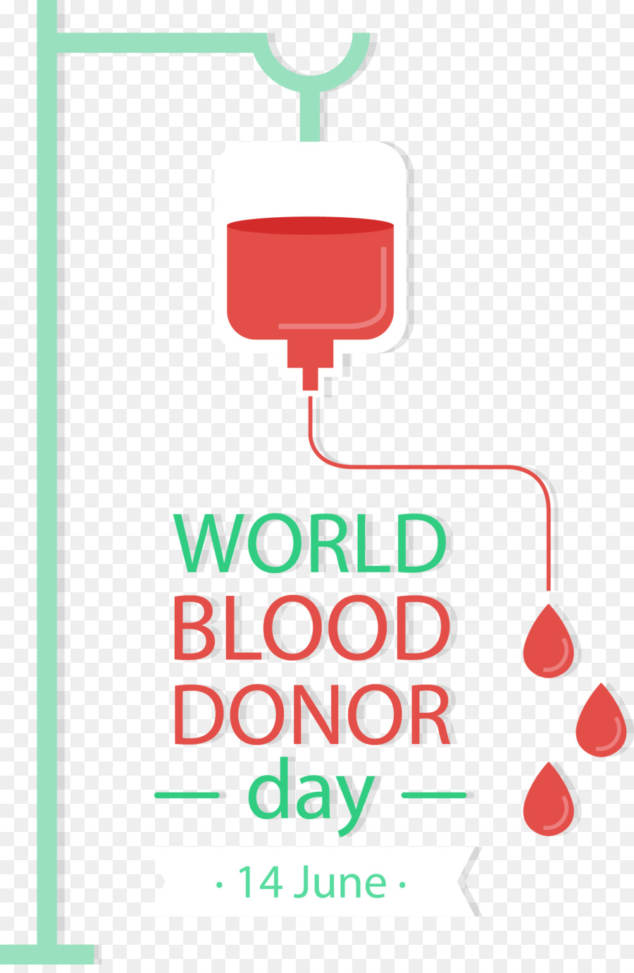 World Blood Donor Day png download - 1344*2043 - Free