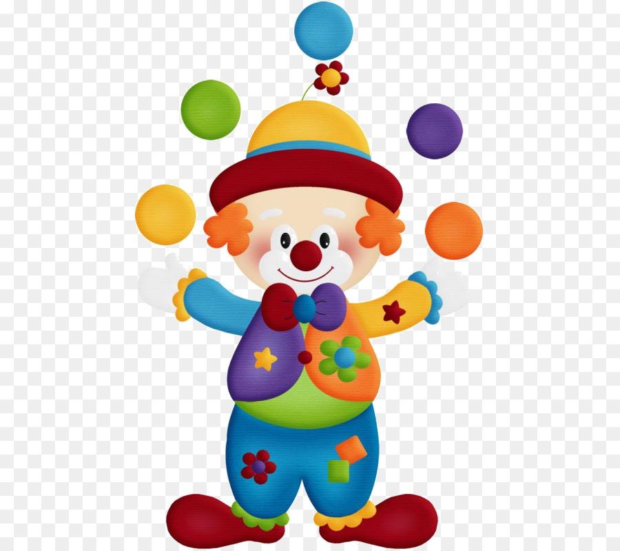 Circus Clown Drawing Clip Art