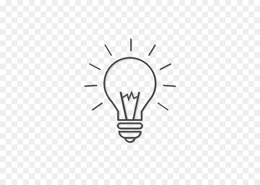 Incandescent Light Bulb Euclidean Vector Cartoon Bulb Png Download