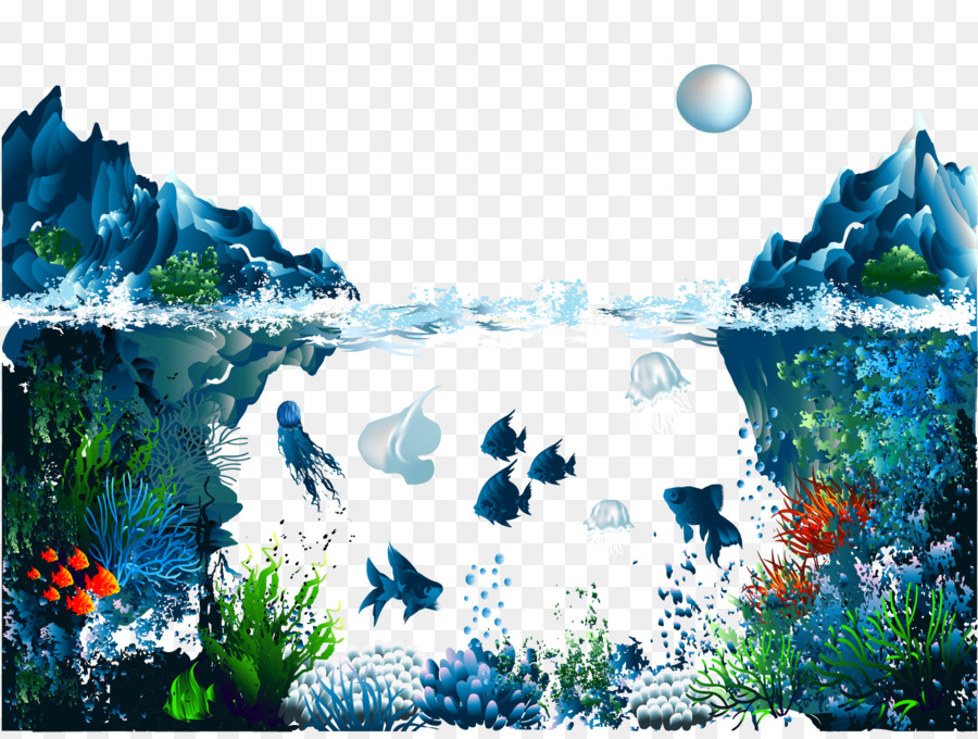 Cartoon Nature Background png download - 1670*1250 - Free