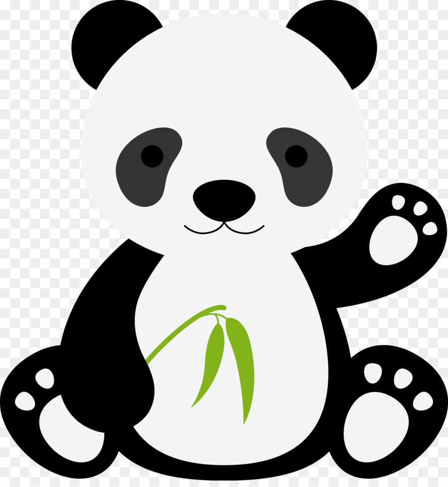 giant panda tiger gorilla cartoon panda vector png download 1911 rh kisspng com panda vector png panda vector art