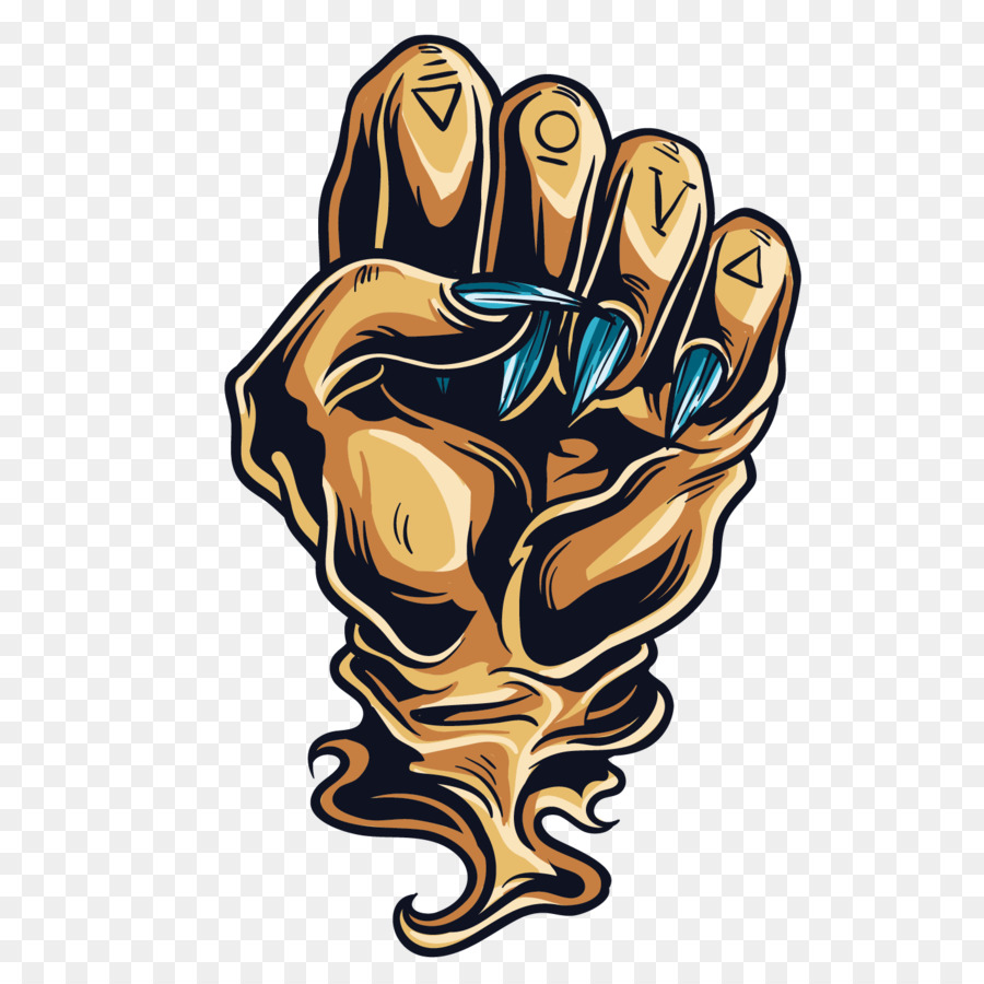 Hand Gesture Clip Art Devil Hand Png Download 14191419 Free