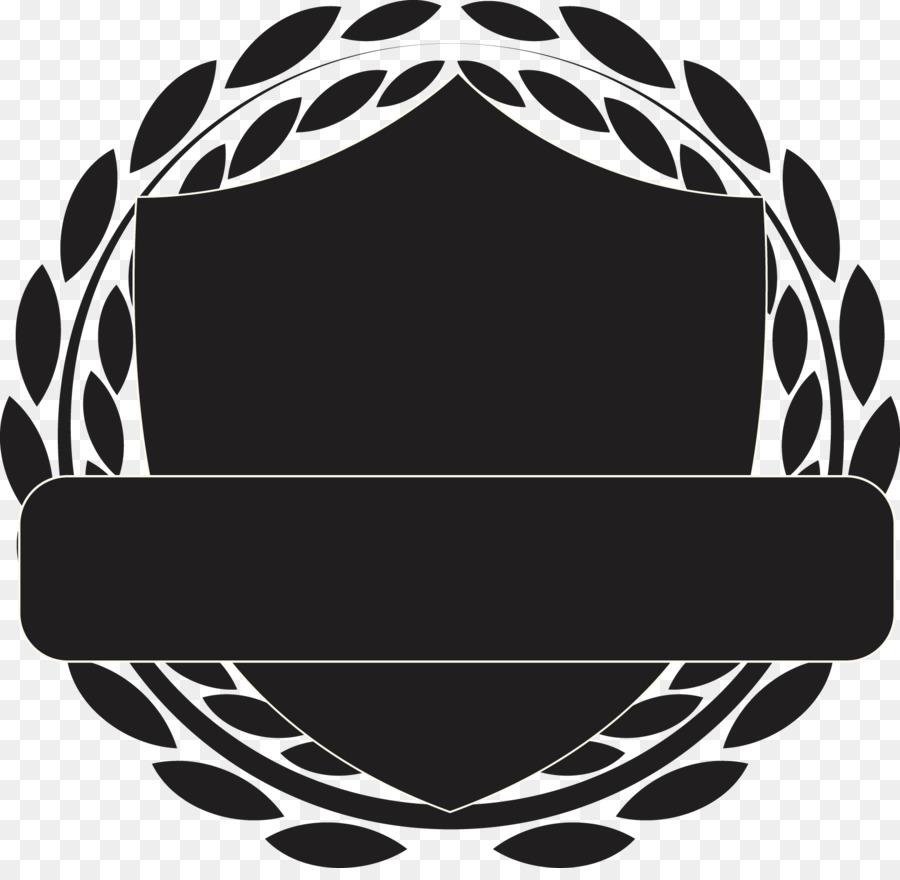 Motif shield black and white shield pattern