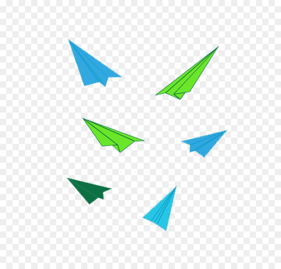 Avión de papel, Avión - Color avión de papel png dibujo ...