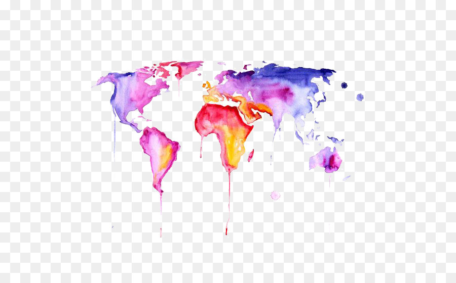 Watercolor painting contemporary art abstract art wallpaper watercolor painting contemporary art abstract art wallpaper drawing world map gumiabroncs Gallery