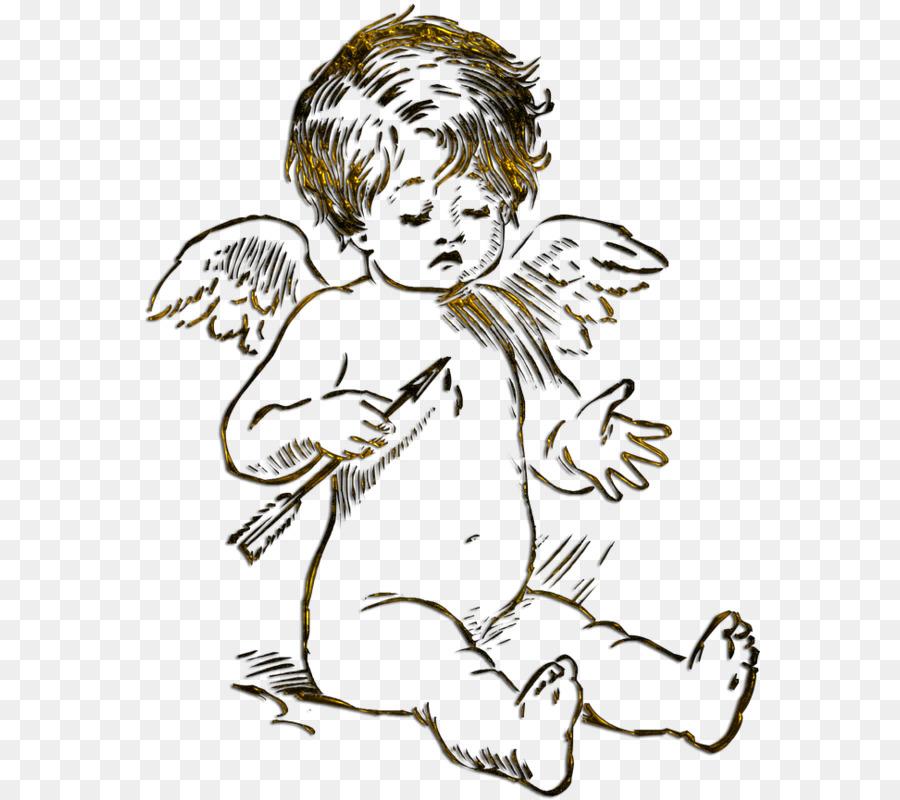 Engel Amor Liebe Clipart Cupido Png Herunterladen 620 800