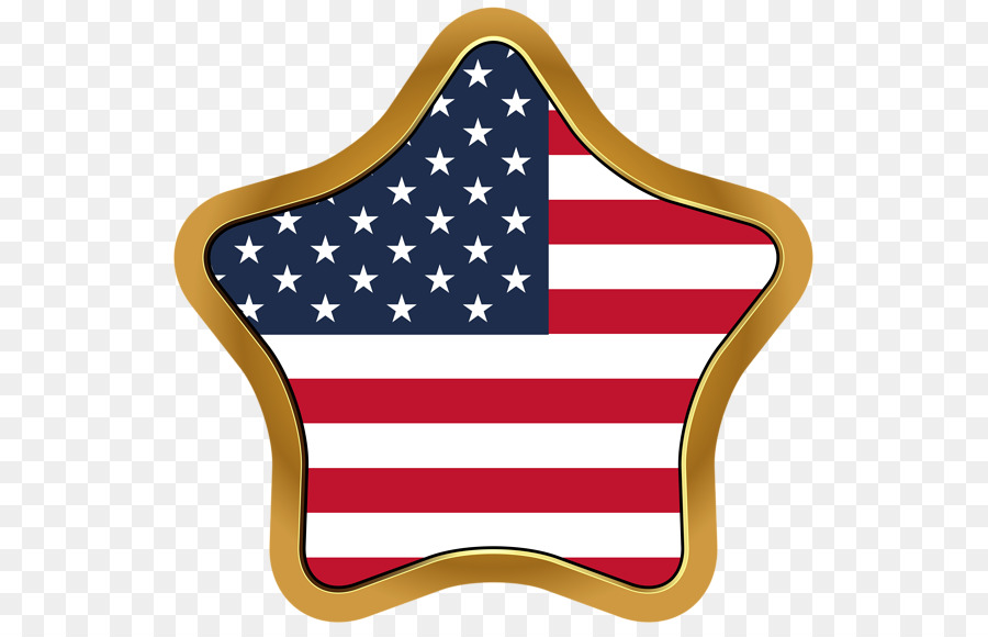 Flag of the United States Clip art - US gold frame GB png download ...