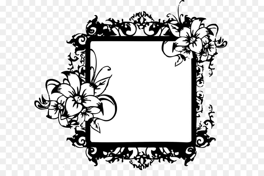 Marco de fotos en blanco y Negro - Marco negro Formatos De Archivo ...