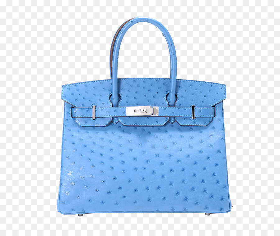 ad5211b779 Tote bag Chanel Birkin bag Hermxe8s Handbag - HERMES (Hermes) sea blue  ostrich handbag png download - 750 750 - Free Transparent Tote Bag png  Download.
