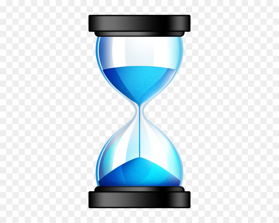 hourglass sands of time icon blue timer png download 1280 1024