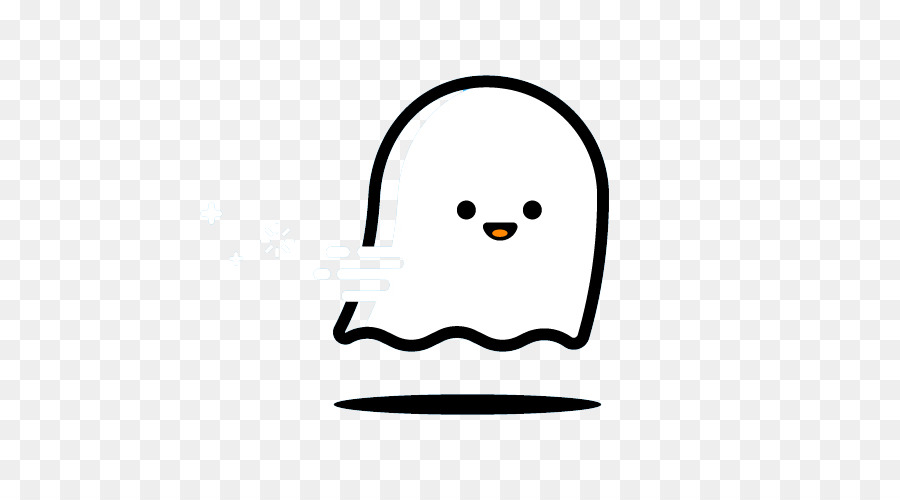 Ghost Icon - Cute ghost lines 500*500 transprent Png Free ...