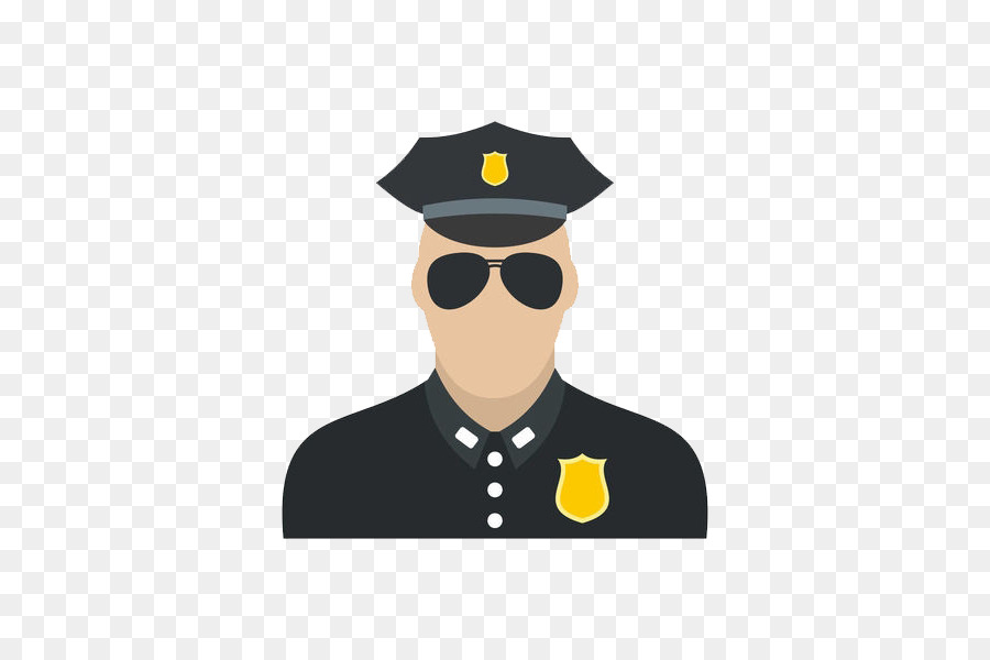8df60cc60d243 Police officer Patrol Royalty-free - Sunglasses police hat png ...