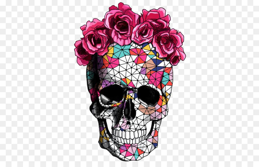 Calavera flower skull rose crown creative skull png download 564 calavera flower skull rose crown creative skull mightylinksfo