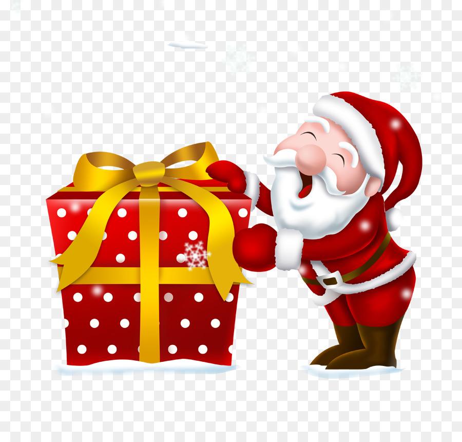 Mrs. Claus, Santa Claus, Geschenk, Weihnachten - Santa Claus ...