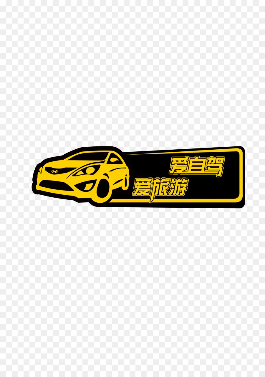 Car logo bumper sticker emblem text png