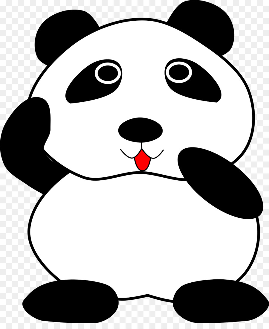 giant panda red panda bear baby pandas clip art cute panda png rh kisspng com panda bear clipart images panda bear clip art for valentines day