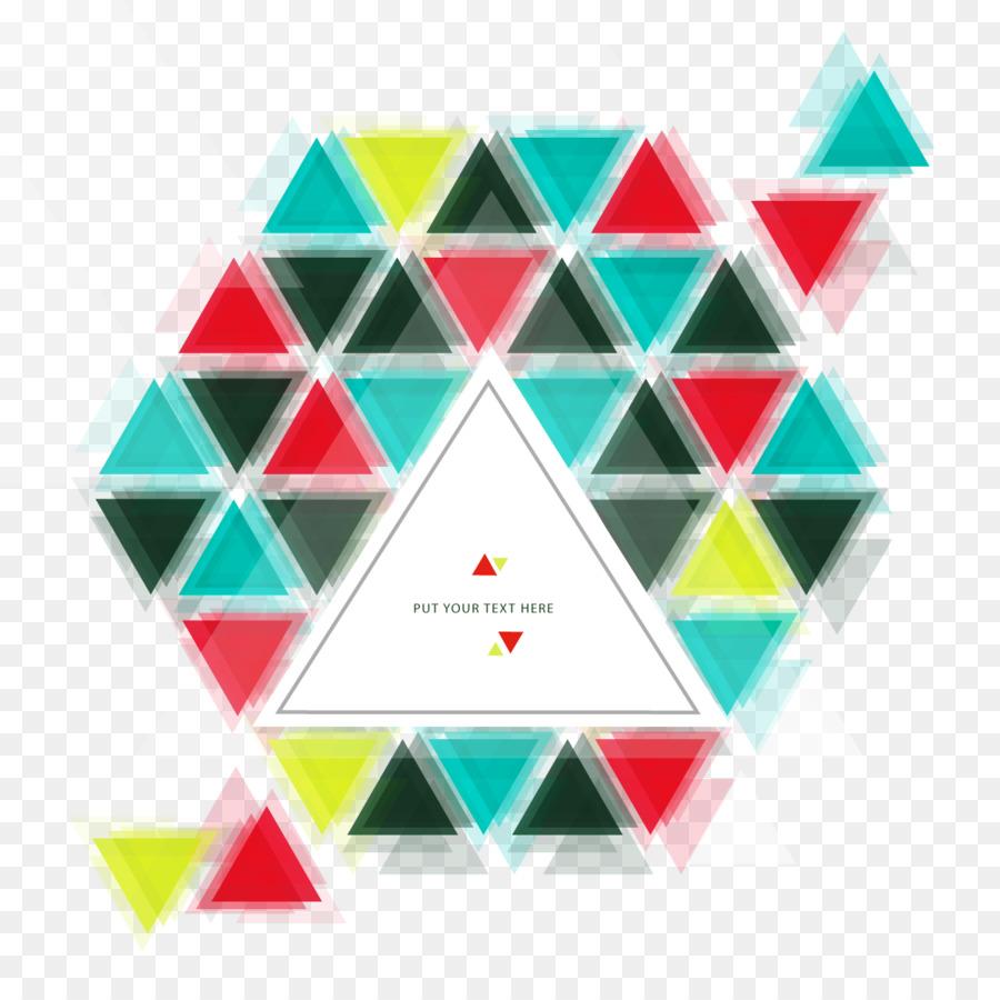 üçgen öklid Vektör Grafik Tasarım Vektör Hayalet Arka Plan Png