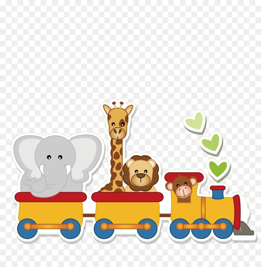 Niño pequeño Clip art - Animal de tren png dibujo - Transparente png ... 23587156c3f