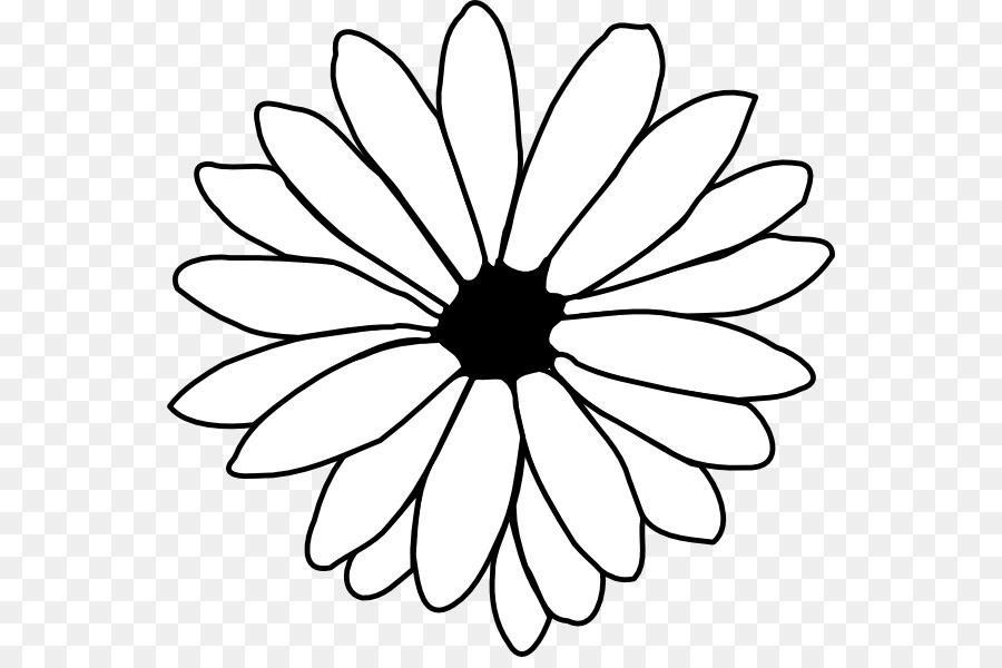 Flower Line Art Free Content Clip