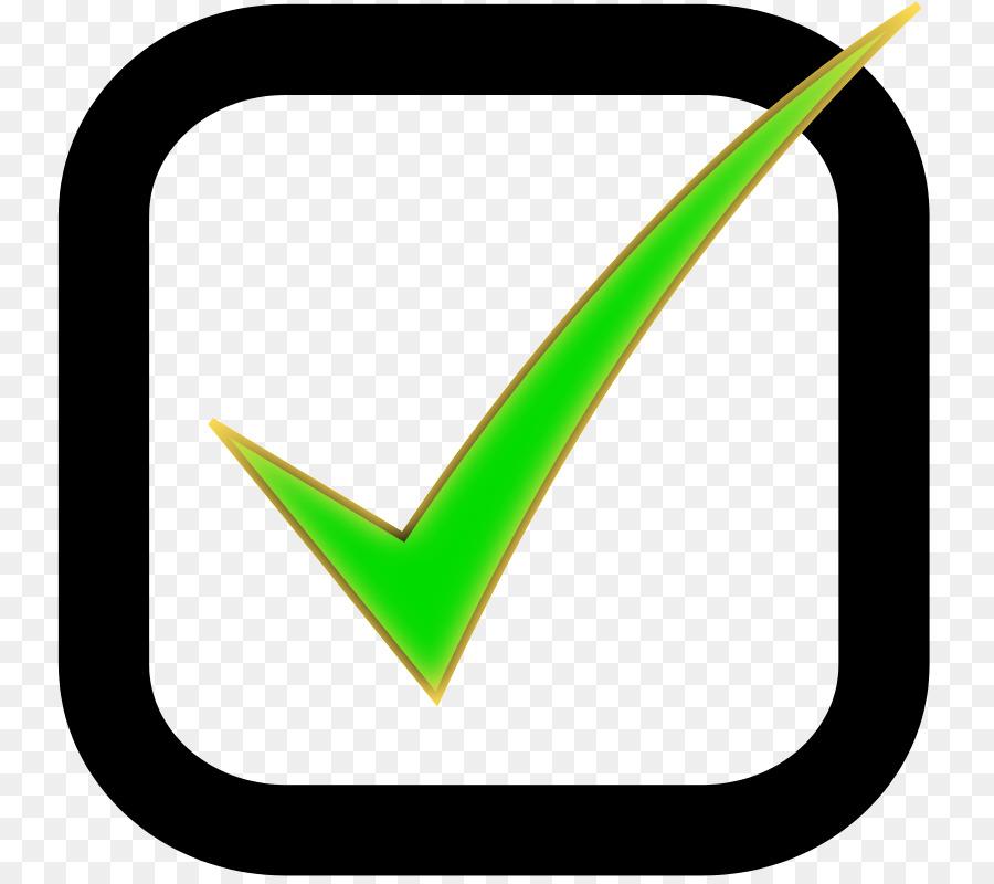 Checkbox Check Mark User Interface Clip Art Check Cliparts Png