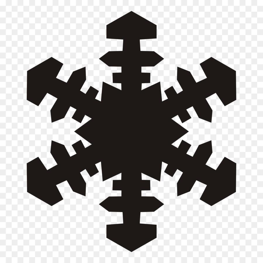 Weihnachten Schneeflocke ornament Holiday Clip art - Weiße ...