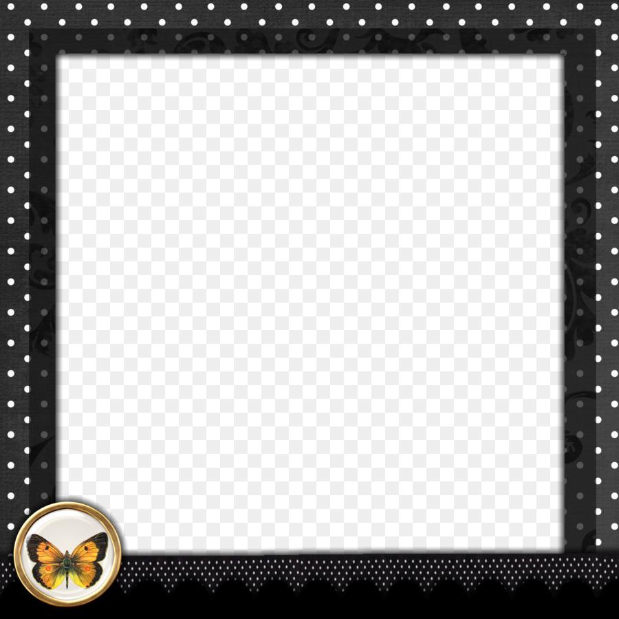 Borders and Frames Picture frame Polka dot Clip art - Polka Dot ...