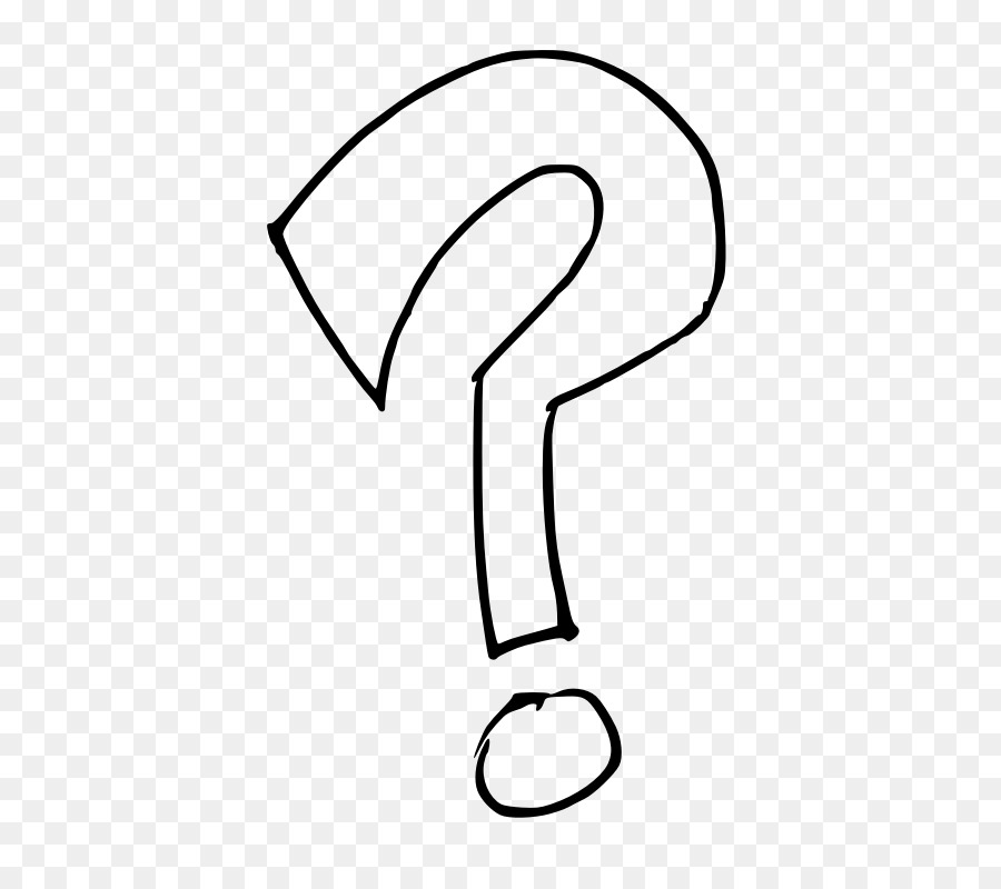 Question Mark Drawing Clip Art