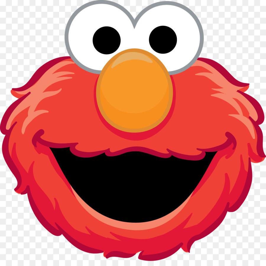 Elmo Face Clipart Sesame Street What Did...