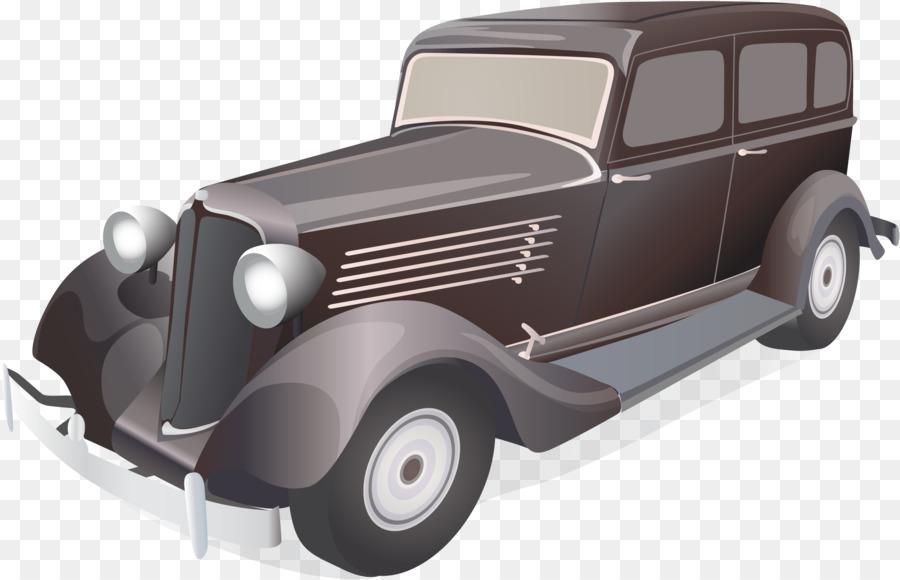 Vintage car Antique car - Vector classic car png download - 2328 ...