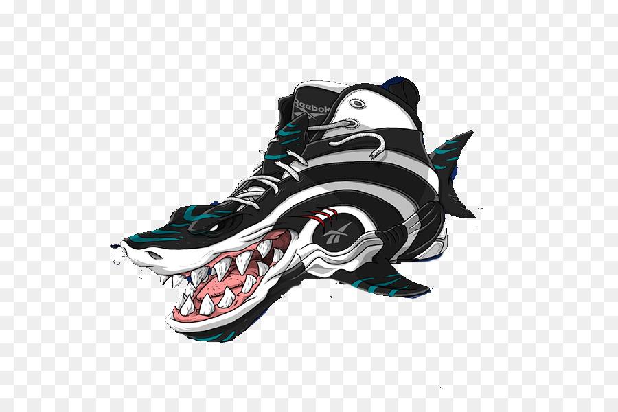 official photos 2c92c 2d4ff Sneakers Art Reebok Air Jordan Shoe - Sharks basketball shoes png download  - 600 600 - Free Transparent Sneakers png Download.