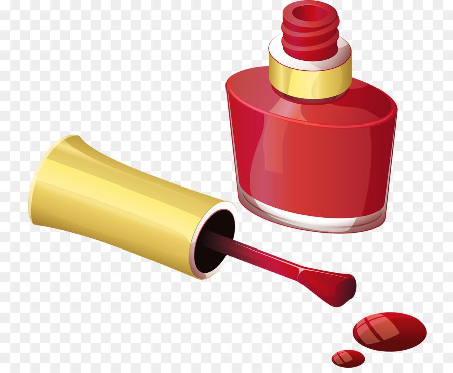 Nail Polish Brush Clip Art Red Nail Polish Png Download 800730