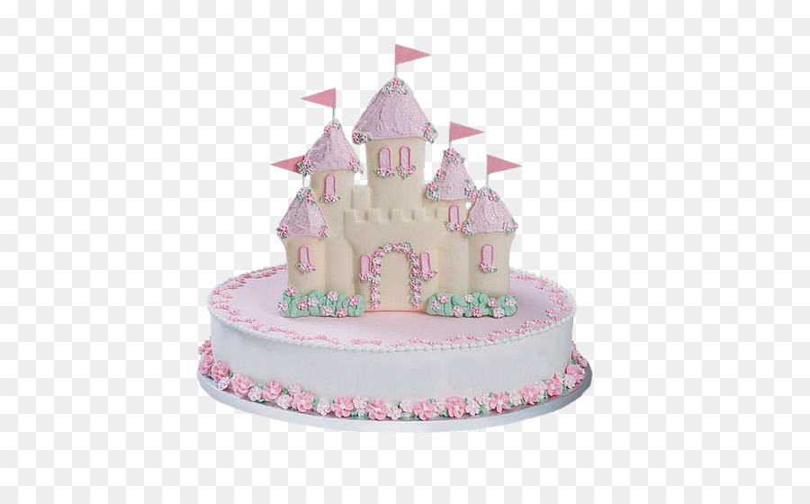 Birthday Cake Princess Cake Sheet Cake Icing Castle Cake Png