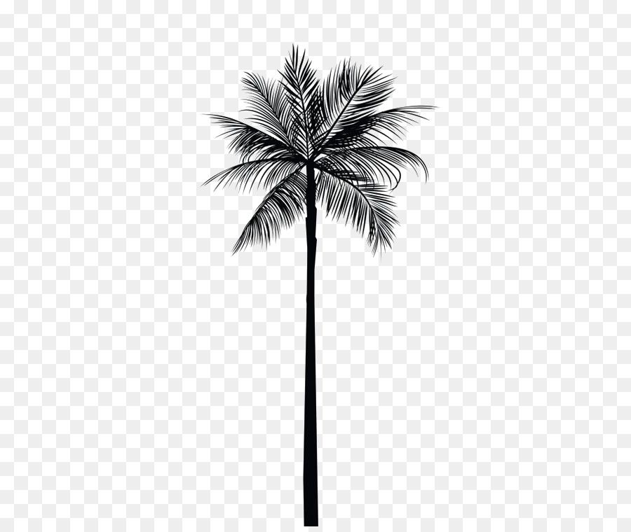 Arecaceae Tree Gold Palm Branch Wall Decal
